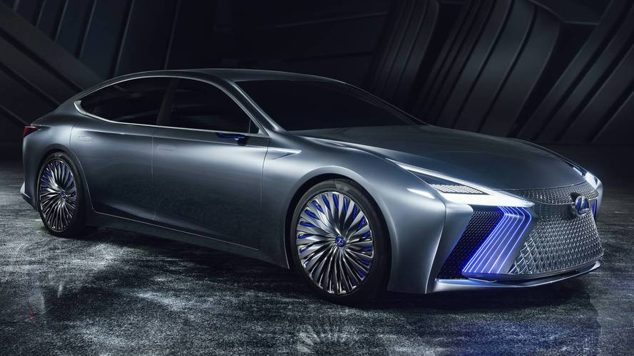Lexus LS+ Concept previews future autonomous tech