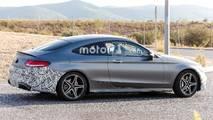 Makyalı Mercedes-AMG C43 casus fotoğrafları