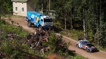 Kamaz chases VW Polo WRC