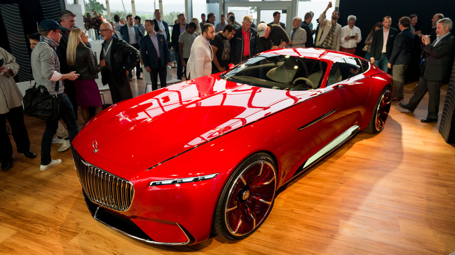 Mercedes-Maybach Vision 6 concept exudes timeless opulence