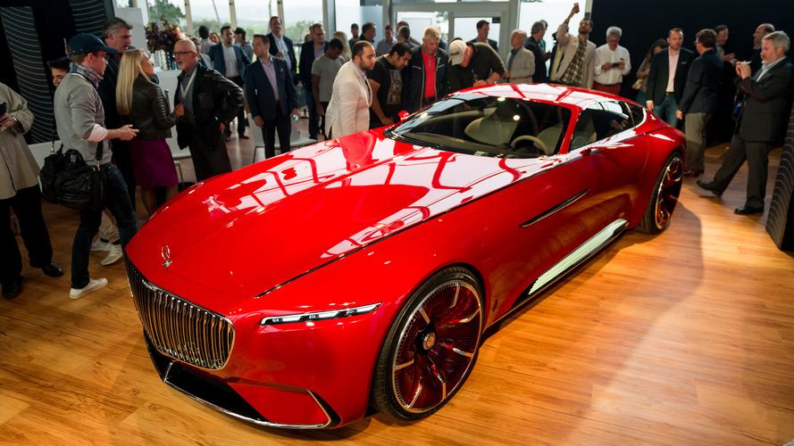 Mercedes-Maybach Vision 6 konseptinden kalite akıyor