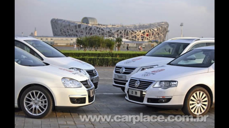 Frota Verde: Volkswagen coloca 5 mil carros nos Jogos Olímpicos de Pequim