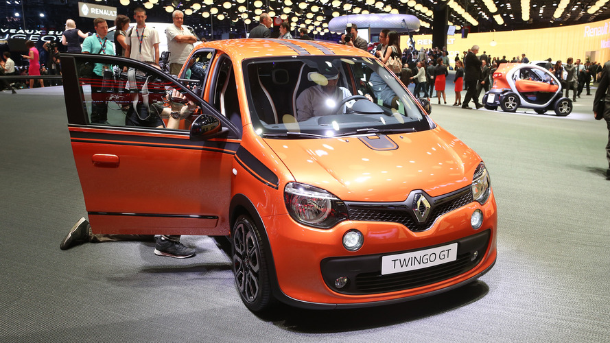 2016 renault twingo gt paris motor show photo. Black Bedroom Furniture Sets. Home Design Ideas