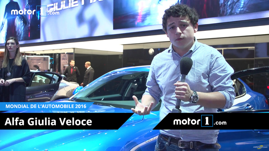 VIDÉO - L'Alfa Giulia Veloce, pour faire de l'ombre aux Allemandes