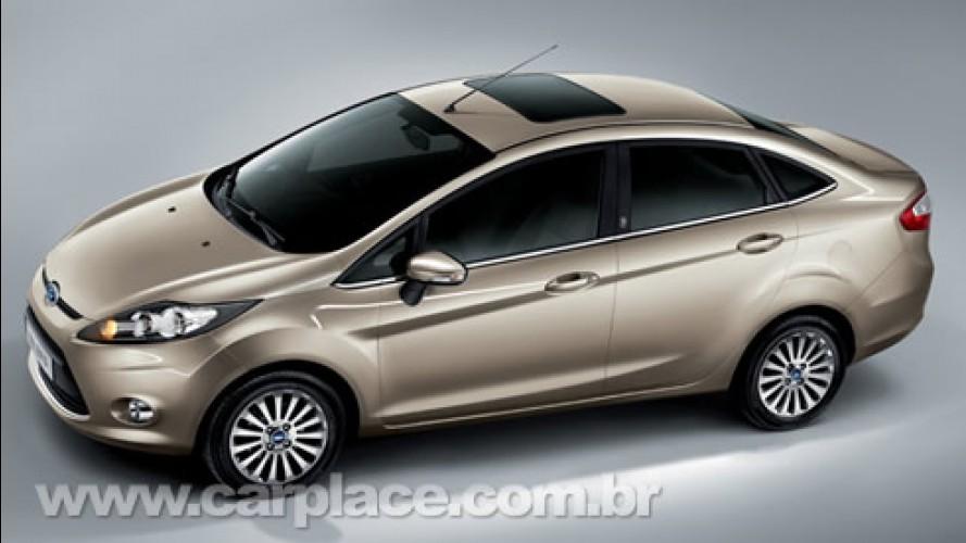 Ford apresenta oficialmente o Novo Fiesta Sedan na China