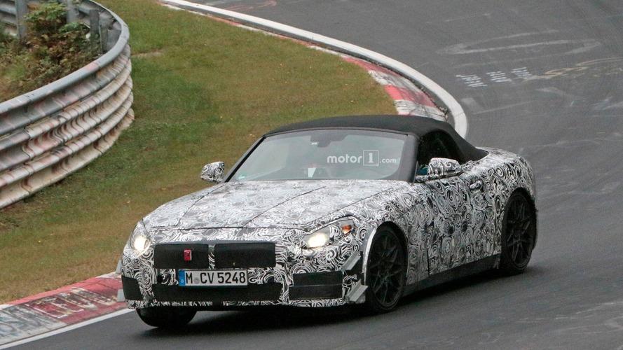 BMW Z5 makes Nürburgring debut; reveals interior