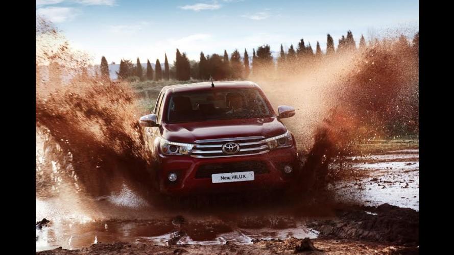 Toyota Yeni Hilux Pick Up'ı Tanıttı