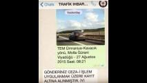 Artık herkes Trafik Polisi - Whatsapp ile Trafik Cezası Uygulaması Başladı