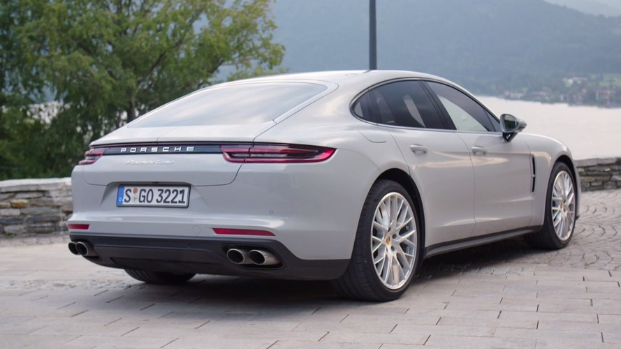 2017 Porsche Panamera Turbo detailed in a trio of colors
