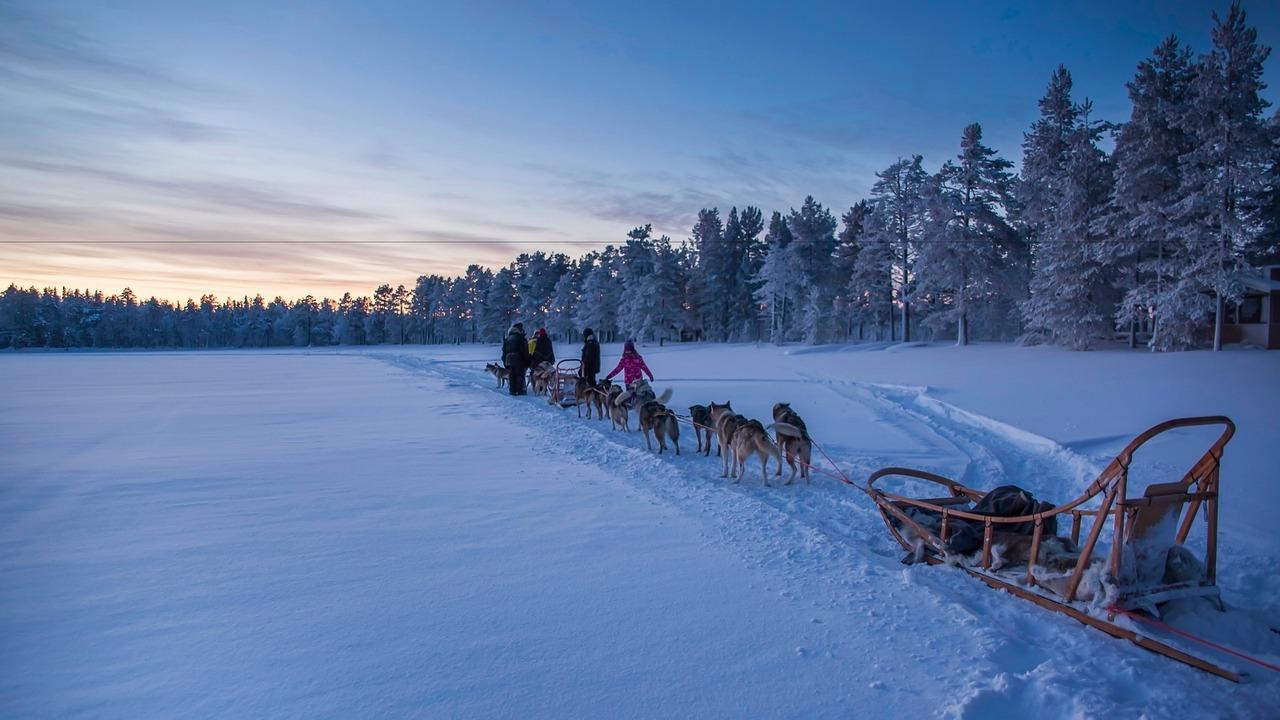 Pure McLaren Arctic Experience winter driving