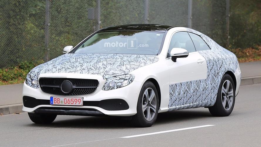 2018 Mercedes E-Class Coupe spy photos