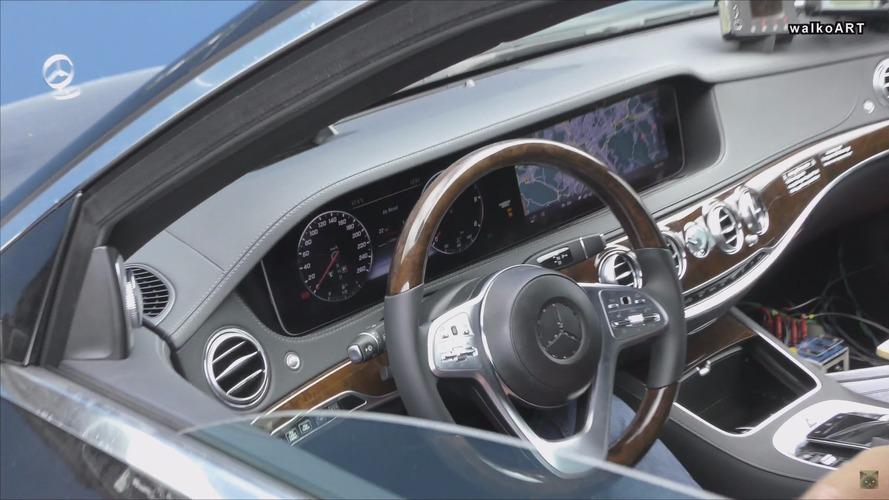 2018 Mercedes S Class ön farlar