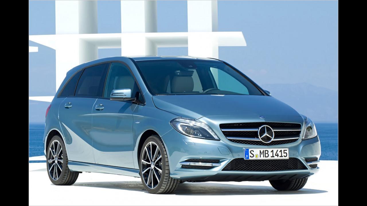 Vans, 0 bis 50.000 Kilometer: Mercedes B-Klasse (2011)