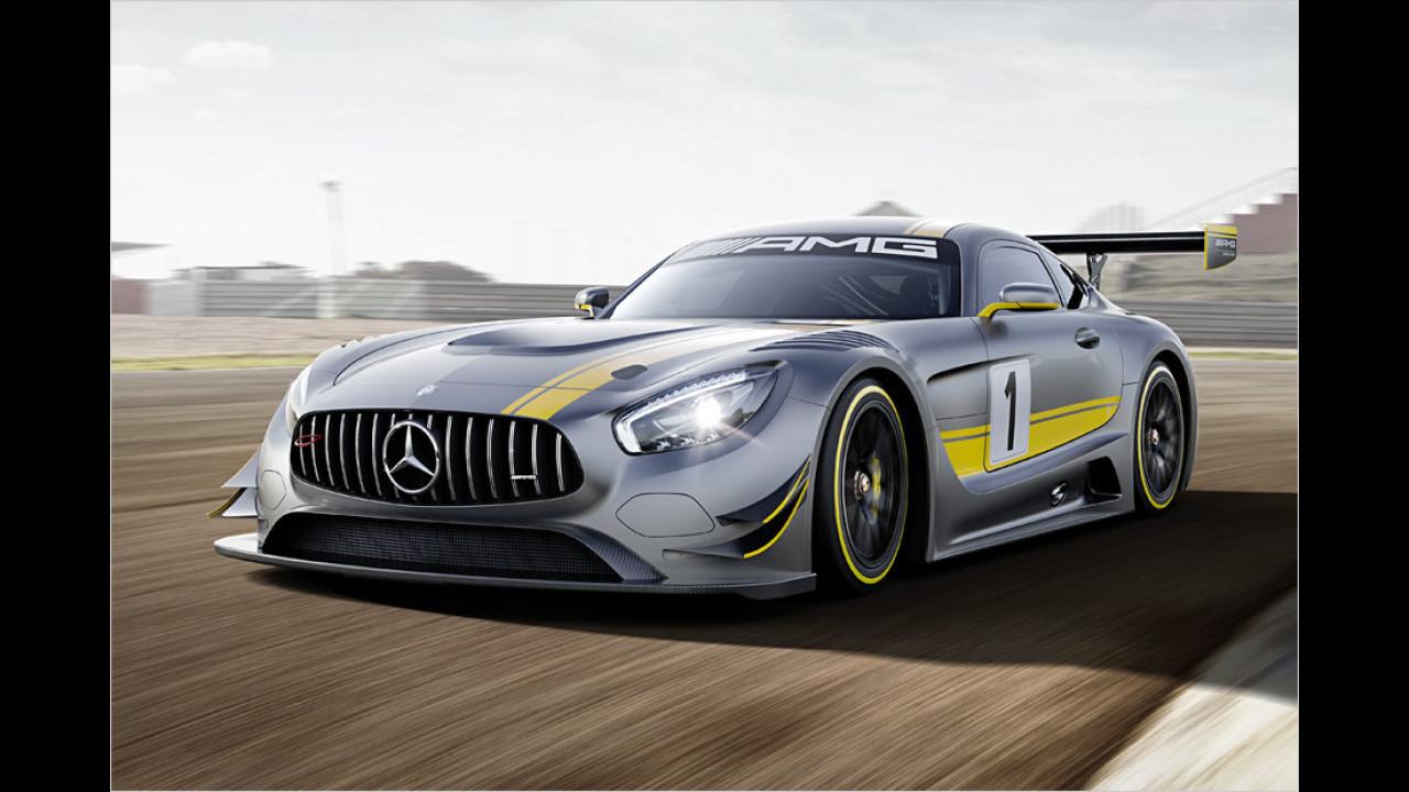 Neuer AMG GT mit bewährtem Sauger