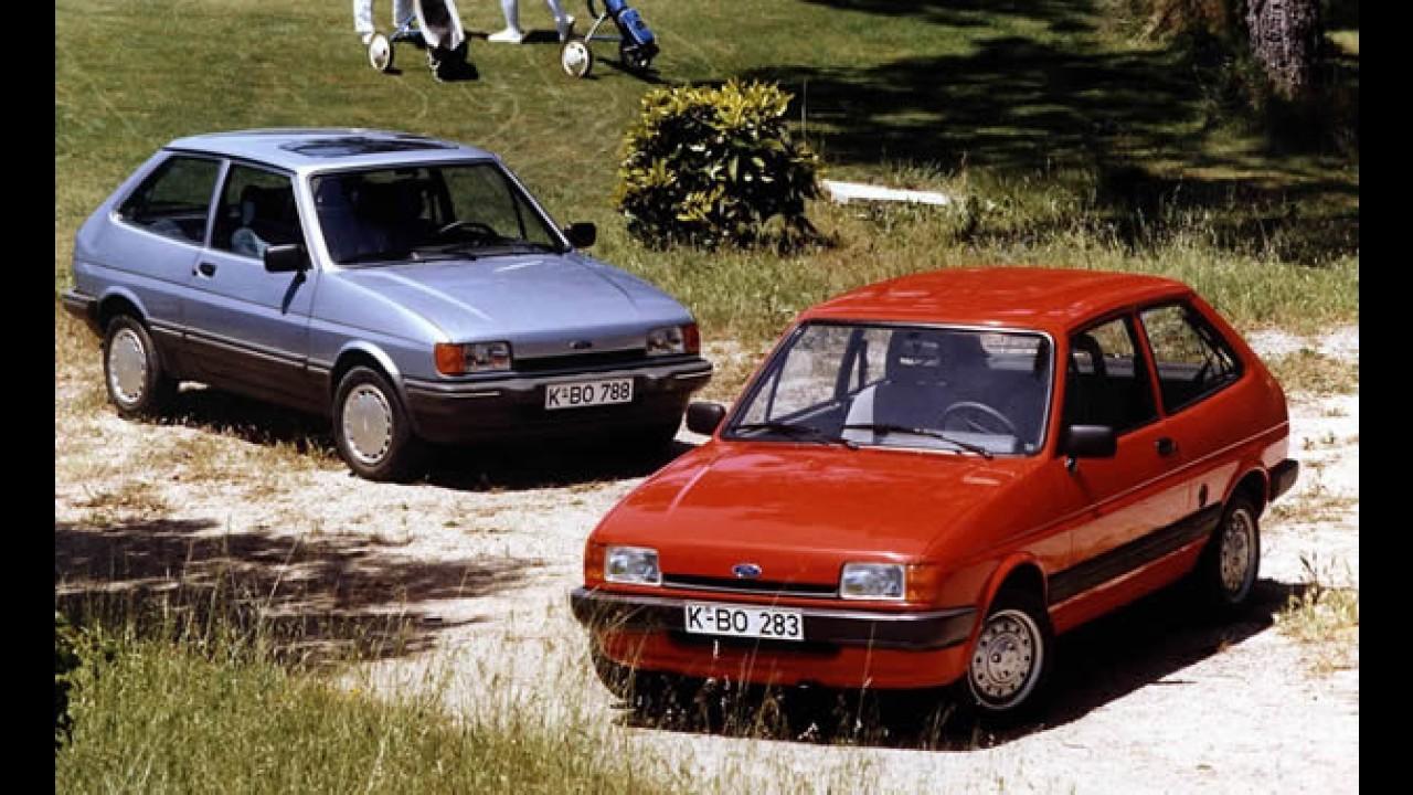 Ford Fiesta chega aos 35 anos de vida