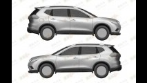 Vazou: Imagens de patente da nova geração do Nissan X-Trail aparecem na China