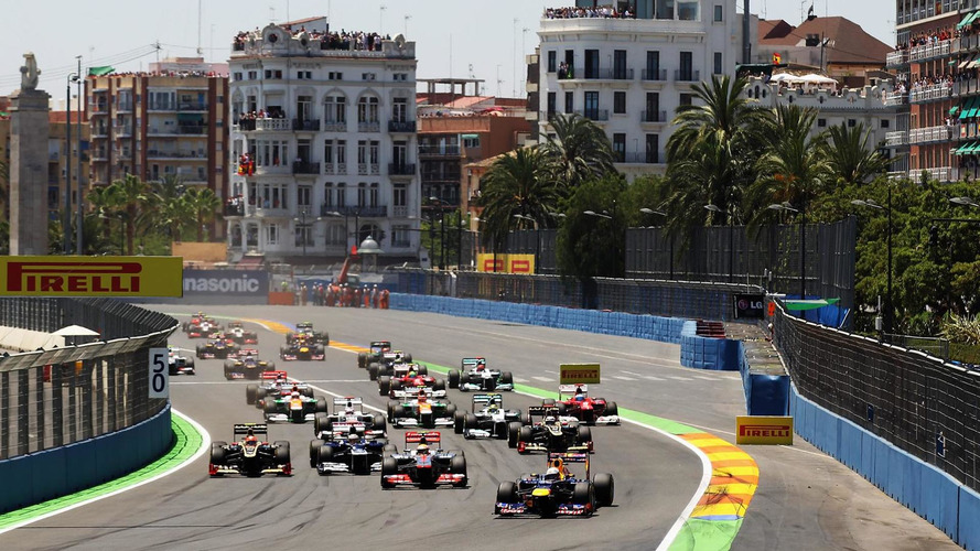 Official says Valencia's F1 foray ended