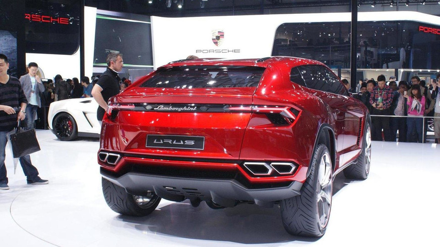 Lamborghini Urus concept SUV official reveal promo [videos]
