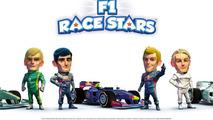 F1 race stars action screenshot