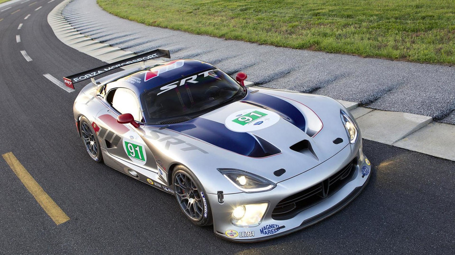 2013 SRT Viper GTS-R can only hit 180 mph