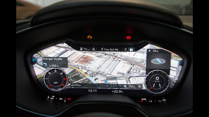 Dentro la nuova Audi TT, come in un videogame