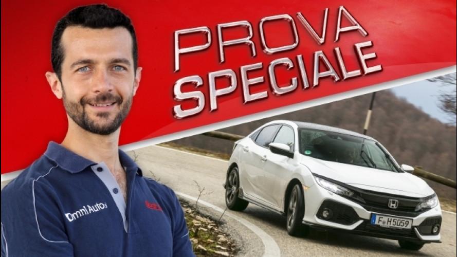 Honda Civic, prova speciale del VTEC turbo [VIDEO]