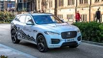 Self-driving Jaguars begin testing