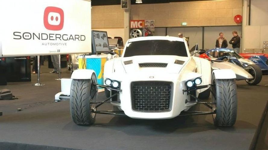 Sondergard Concept at Danish Car Show