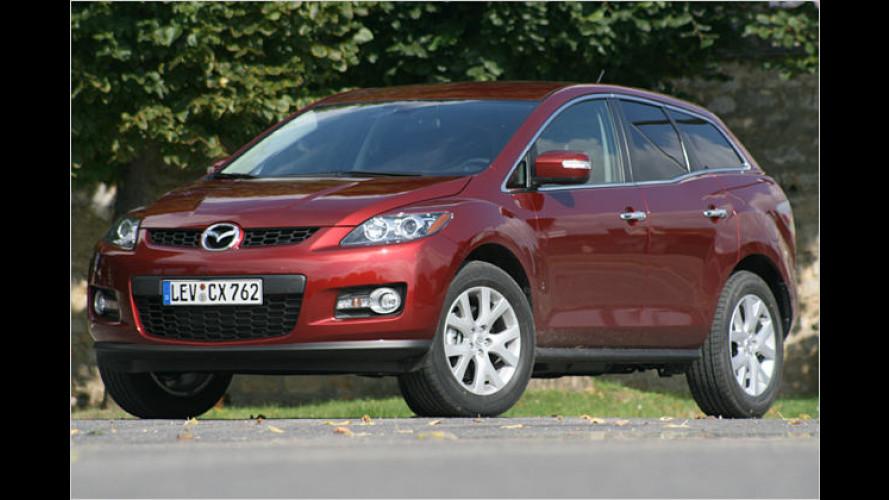 Allrad-Hochsitz mit Nordschleifen-Trimm: Mazda CX-7 im Test