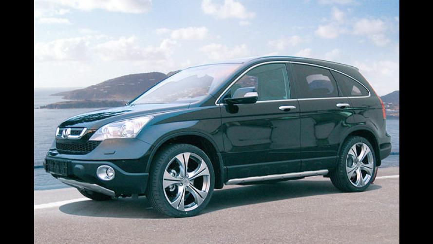 Nicht nur neu befelgt: Giacuzzo manipuliert am Honda CR-V