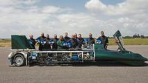British Steam Car Aims To Break 270 km/h Barrier