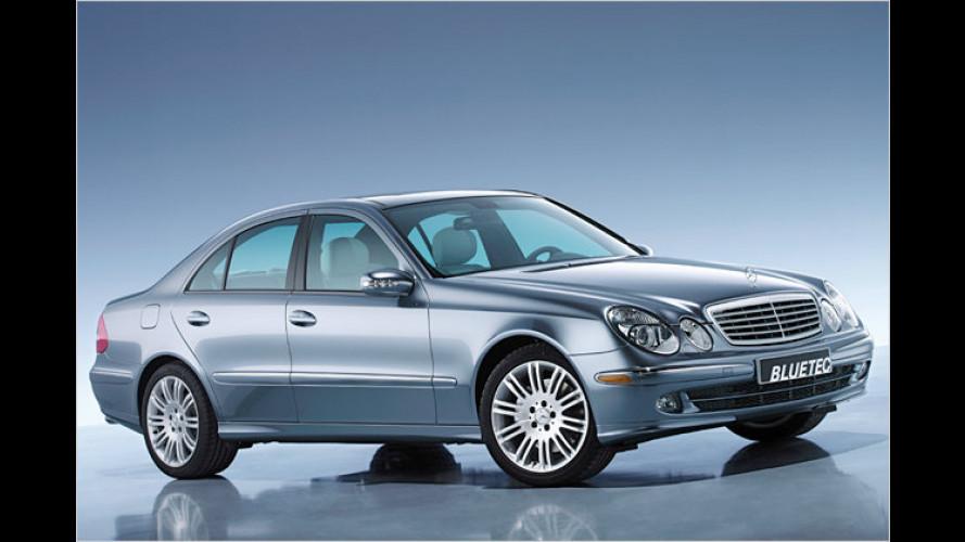 Mercedes: E 320 Bluetec eröffnet Diesel-Offensive in den USA