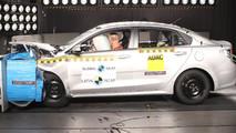 Latin NCAP testa Fiat Mobi, Kia Rio Sedan e Chevrolet N300