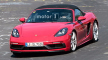 Porsche 718 Boxster GTS Spy Photos