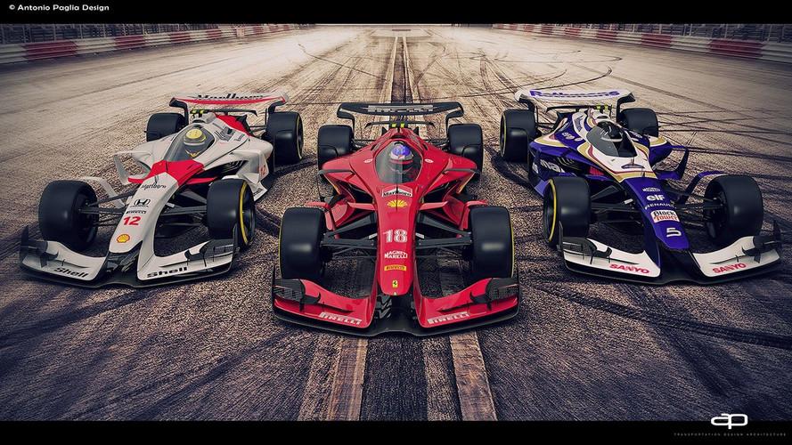 Así podrían ser los Fórmula 1 en 2025