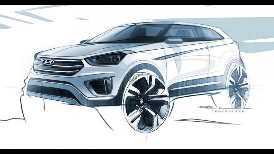 Hyundai Creta: revelado primeiro teaser do futuro rival do HR-V