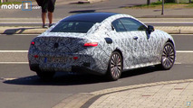 2017 Mercedes E-Class Coupe screenshot from spy video