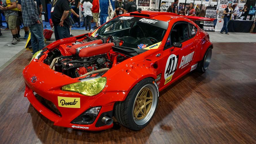 VIDÉO - Une Toyota GT86 avec un moteur de Ferrari !