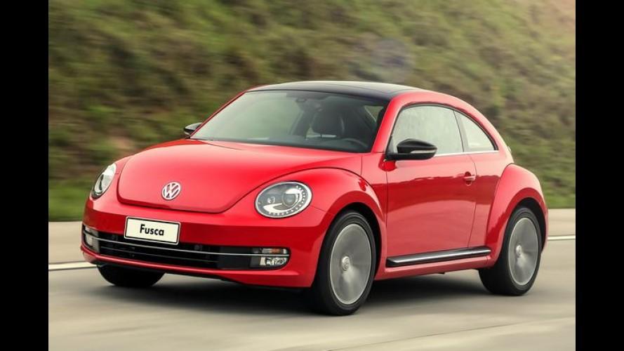 Volkswagen Fusca pode sair de linha para dar lugar a novos SUVs