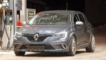 2018 Renault Megane RS casus fotoğrafları