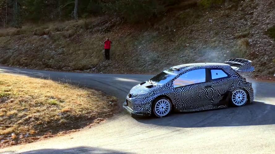 Toyota Yaris WRC'nin sesi de tasarımı kadar agresif