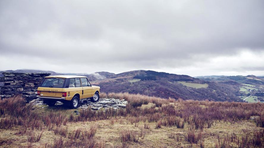 Land Rover Range Rover Reborn restorasyonu
