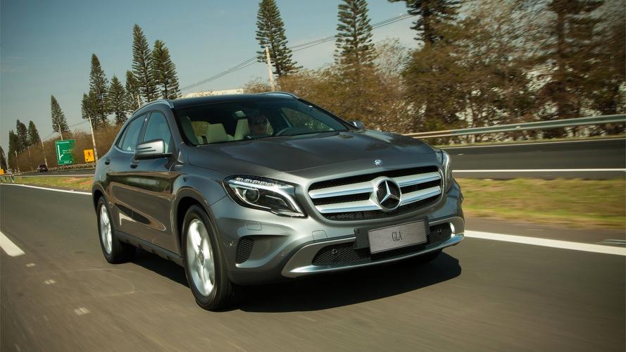 Mercedes-Benz GLA reestilizado estreia em janeiro no Salão de Detroit
