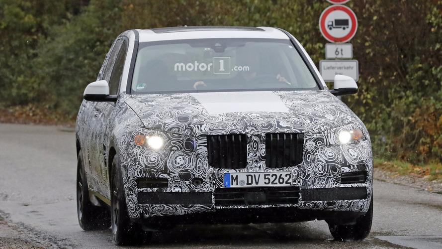 2018 BMW X5 casus fotoğrafları