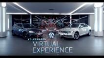 Virtual Experience: Volkswagen lança plataforma que permite tour pelo showroom