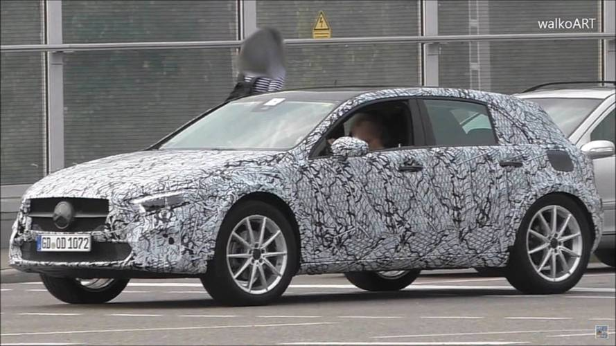 New Mercedes GLA Still Looks Like A Jacked-Up A-Class In Spy Video