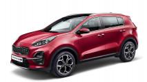 Kia Sportage: Facelift