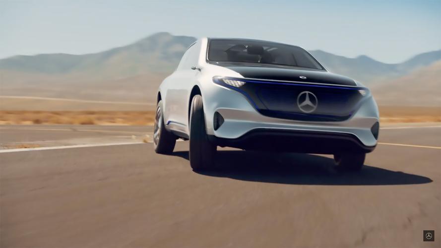 Mercedes, yeni EQ teaser'ı ile motor sesine veda ediyor