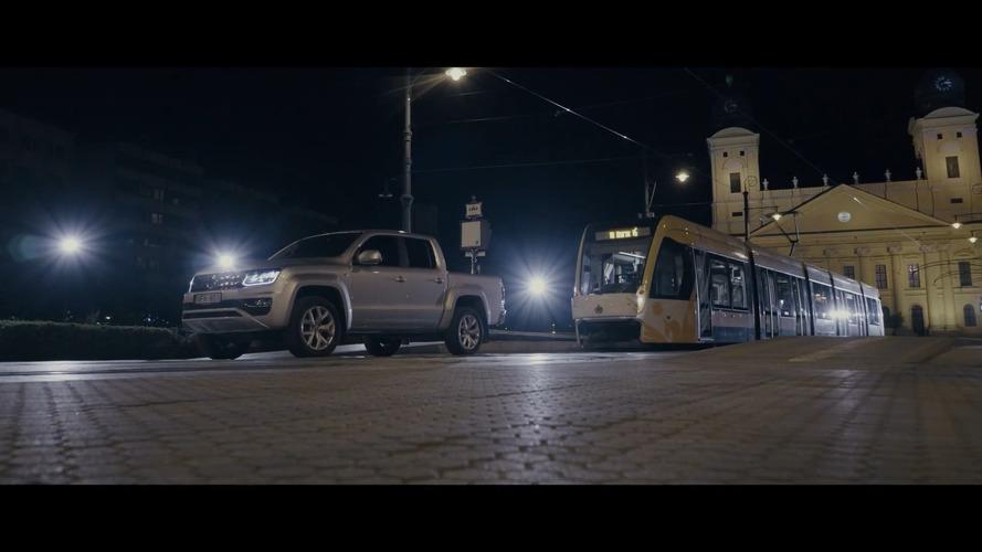 Watch VW Amarok Put Its V6 TDI To Work By Pulling Tram