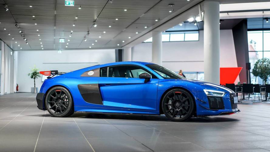 Audi R8 V10 Plus Has The Wow Factor With Optional Performance Parts